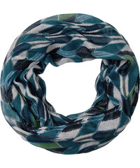 Cecil - Foulard doux imprimé - loden frost vert