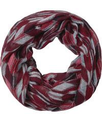 Cecil - Foulard doux imprimé - maroon red