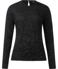 Street One - T-shirt froissé Jackie - Black