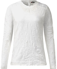 Street One - T-shirt froissé Jackie - blanc