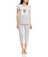Women'secret Damen Schlafanzug Set Co Koala Pj Capri Fr