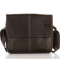 3d92368d7f5 Messenger bag Solier S15 hnědý