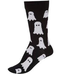Černé dámské ponožky s bubáky ZOOT Originál