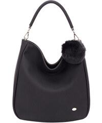 David Jones Elegantní dámská kabelka Black CM3207