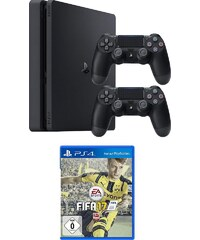 PlayStation 4 (PS4) 1TB Slim + Fifa 17 Konsolen-Set