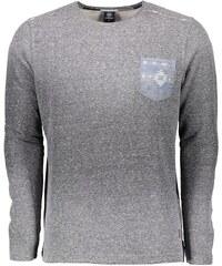 LERROS Langarm-Shirt in Melange