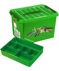 SUNWARE Aufbewahrungsbox »Gartenbox 22 Liter mit Einsatz«