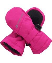Alpine Pro PATO Růžová/Fialová Dětské Rukavice