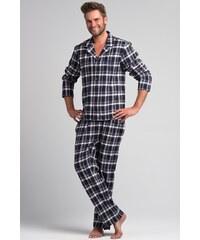Pánské pyžamo Rossli SAM-PY 043, XL modro-bílá