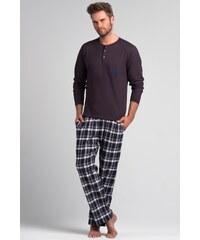 Pánské pyžamo Rossli SAM-PY 044, XL fialová