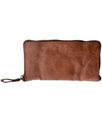 Dudu Portefeuille Portefeuille pour femme en cuir teinté produit fini aspect vieil