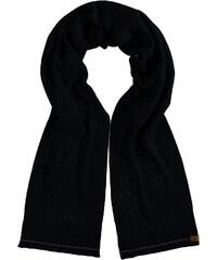 FRAAS Kaschmirschal mit puristischem Design in schwarz