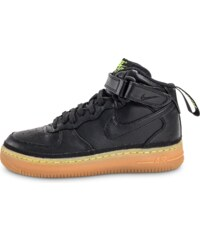 Nike Baskets Air Force 1 Mid Lv8 Noire Enfant