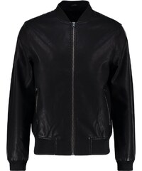 New Look Veste en similicuir black