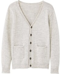 Mango LEON Gilet light heather grey