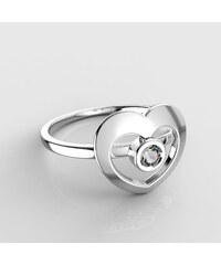 Dětský zlatý prstýnek BeKid - 848 (bílé zlato Au585)