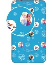 Jerry Fabrics Dětské prostěradlo Frozen, 90x200 cm - modré