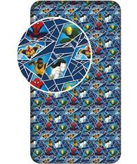 Jerry Fabrics Dětské prostěradlo Spiderman, 90x200 cm - modré