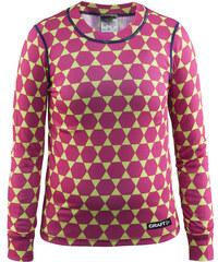 Craft Dívčí funkční tričko Mix and Match - růžovo-zelené