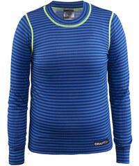 Craft Dětské pruhované funkční tričko Mix and Match - modré