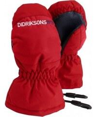 Didriksons1913 Dívčí rukavice Onida - červené