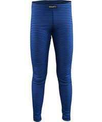 Craft Dětské pruhované funkční kalhoty Mix and Match - modré