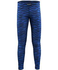 Craft Dětské vlnkované funkční kalhoty Mix and Match - modré