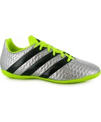 Adidas Ace 16.4 Indoor Court Trainers Junior, silver/solyello