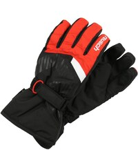 Reusch BULLET Gants black/fire red