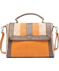 Jewelcity Cross body kabelka Podzimní nálada, oranžová