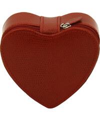 Friedrich Lederwaren Šperkovnice ve tvaru srdce 23651-4