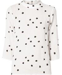 Vero Moda Blusenshirt mit Punktemuster