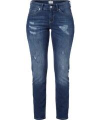 MAC Skinny Fit Jeans im Destroyed Look