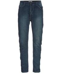 SUBLEVEL Herren Jeans Hose Jogging lässig blau aus Baumwolle
