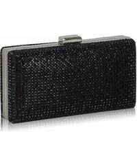 LS Fashion společenská kabelka LS0190 černá