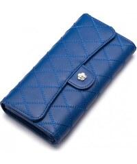 NUCELLE dámská peněženka Emboss modrá