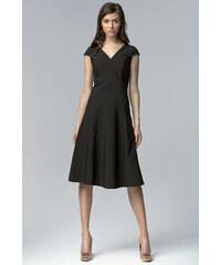 NIFE Dámské šaty Decent černé
