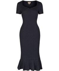 LINDY BOP Dámské pouzdrové šaty Arabela černé