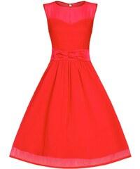 Dámské šaty Lindy Bop Candy červené