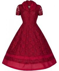 Dámské šaty Lindy Bop Poppy červené