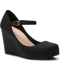 VICES Dámské boty na klínku Jelly Sue černé