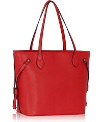 LS Fashion Kabelka LS00298 červená