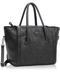 LS Fashion Kabelka LS00213 černá