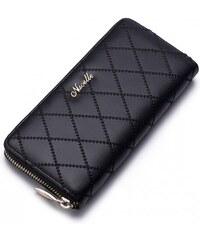 NUCELLE dámská peněženka Fashion Long černá