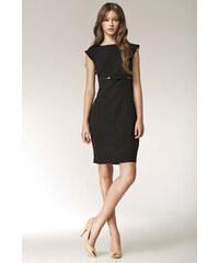 NIFE Dámské šaty Bowis černé