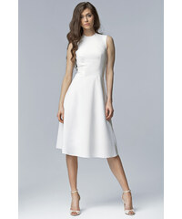 NIFE Dámské šaty Madam bílé
