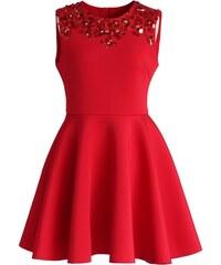 CHICWISH Dámské šaty Red destiny