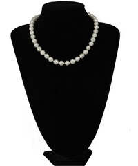 COLLECTIF Perlový náhrdelník bílý