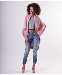 MOSQUITO Dámský svetr Maxi Over růžový