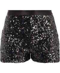 Hilfiger Denim Shorts mit Pailletten-Besatz